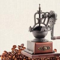 鑄鐵匠復古手搖咖啡磨豆機