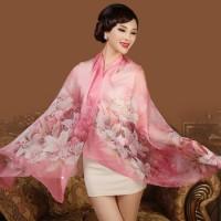 上海故事桑蠶絲真絲絲巾