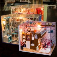DIY小屋小伙伴們手工拼裝模型玩具