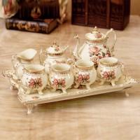 實用結婚禮物創意陶瓷歐式茶具套裝