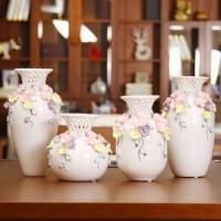 簡約現代風格臺面陶瓷花瓶擺件