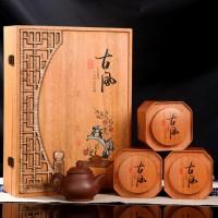 安溪鐵觀音蘭花香高檔木禮盒
