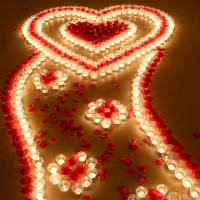 創意求婚生日蠟燭浪漫套餐