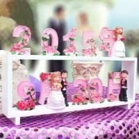 個性定制專屬日期擺件結婚禮物