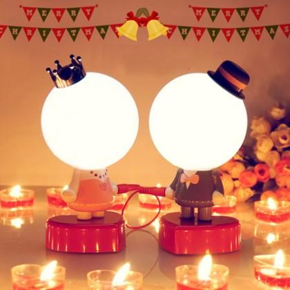 千里情緣一線牽創意夜燈結婚禮物