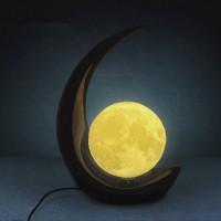 創意3D立體月球臺燈生日禮物